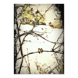Winter Snow and Cold 13 Cm X 18 Cm Invitation Card