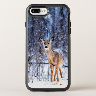 Winter Snow And Deer OtterBox Symmetry iPhone 8 Plus/7 Plus Case