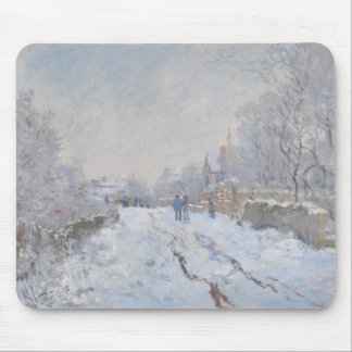 Winter Snow at Argeteuil Mouse Pad