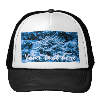 Winter Snow Christmas Tree Cap