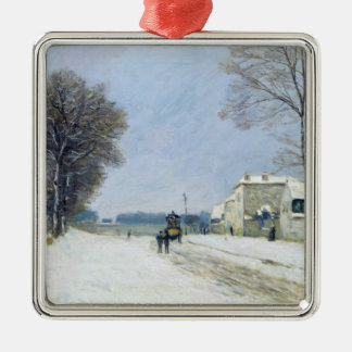 Winter, Snow Effect, 1876 Christmas Ornament