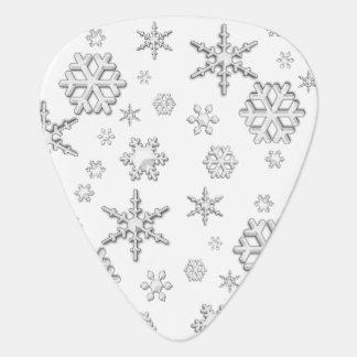 Winter Snow Plectrum