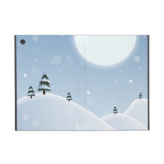 Winter Snow Scene Cases For iPad Mini