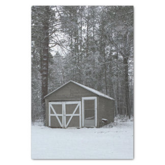 Winter Snow Scene Tissue Paper