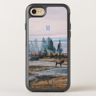 Winter Snowfall trees reindeer joy holidays OtterBox Symmetry iPhone 8/7 Case