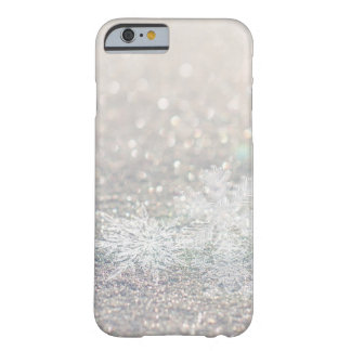 Winter Snowflake Bokeh Bling iPhone 6/6s Cases