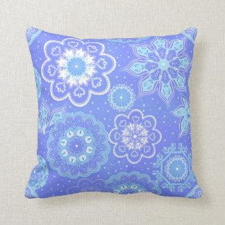 Winter Snowflake Pillow
