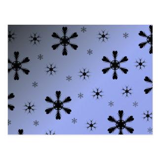 Winter Snowflake Postcard