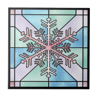 Winter Snowflake Tile Trivet