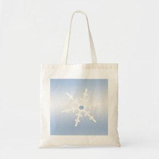 Winter Snowflake Tote Bag