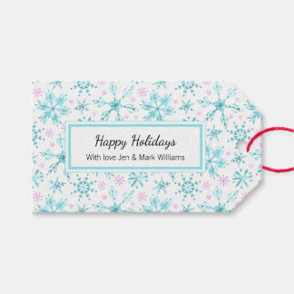 Winter Snowflakes Gift Tags