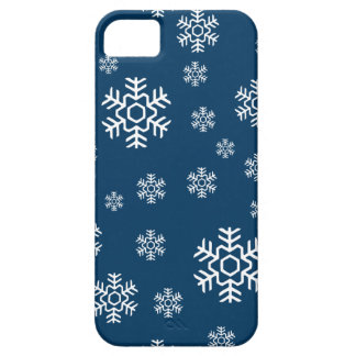 Winter Snowflakes Holiday Barely There iPhone 5 Case