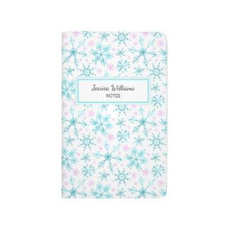 Winter Snowflakes Journal
