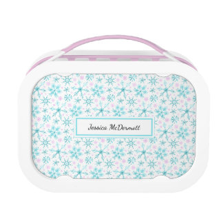 Winter Snowflakes Lunchbox