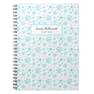 Winter Snowflakes Notebook