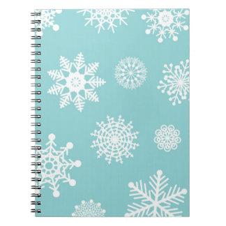 Winter Snowflakes Notebooks