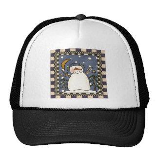Winter Snowman Cap