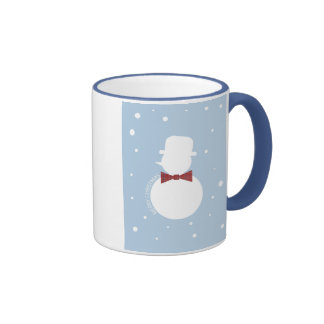 Winter Snowman Christmas Mugs
