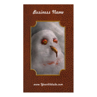 Winter - Snowman - What are you looking at Pack Of Standard Business Cards