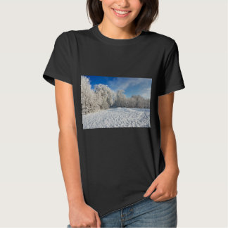 Winter Snowscape Tees