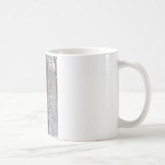 Winter Snowy Scene: Snow on the Trees Coffee Mugs