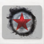 Winter Soldier Red Star Mouse Pad
