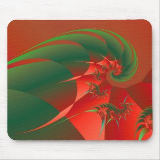 Winter Solstice Cool Abstract Fine Art Fractal Mouse Mat