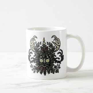 Winter Solstice Green Man Mug