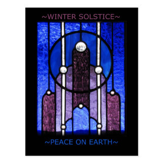 Winter Solstice Postcard