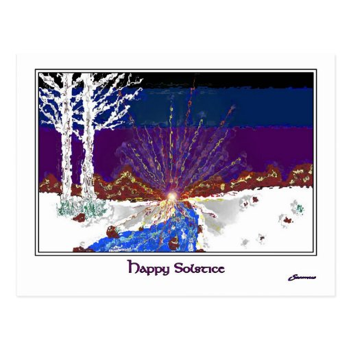 Winter Solstice Post Cards