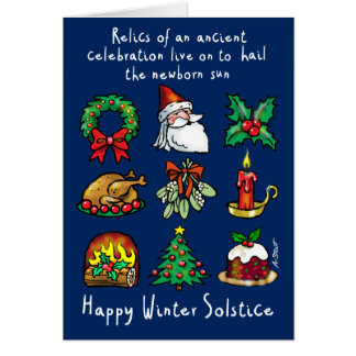 Winter Solstice Relics - Card