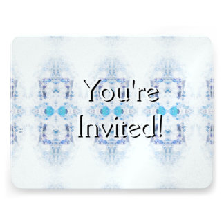 Winter Solstice Yule Snow Christmas Personalized Invitation