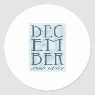 Winter Soltice Stickers