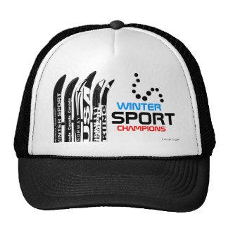 Winter Sport Champions Snowblade Black Hat