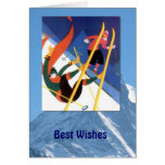 Winter Sports - A little tumble Greeting Cards