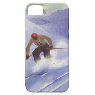 Winter sports - Downhill race iPhone 5 Cases