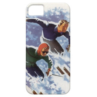 Winter sports - Downhill Racers iPhone 5 Cover