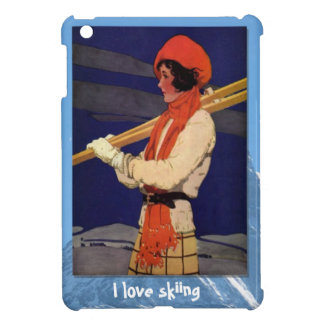 Winter sports - Fashion on the ski slopes Case For The iPad Mini