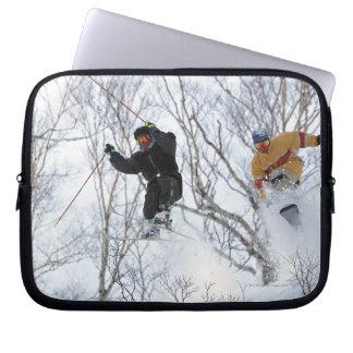 Winter Sports Laptop Sleeve