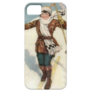 Winter sports - On the ski slopes Case For The iPhone 5