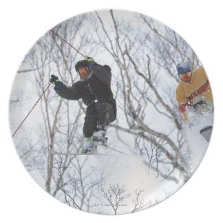 Winter Sports Plate