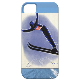 Winter sports - Ski Jumper Barely There iPhone 5 Case