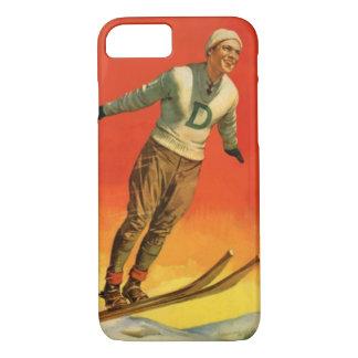 Winter sports - Ski jumper iPhone 8/7 Case