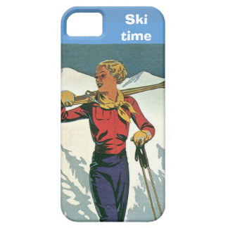 Winter sports - Ski time Case For The iPhone 5