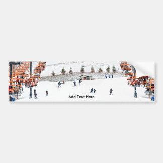 Winter Sports Skiing Bumper Stickers