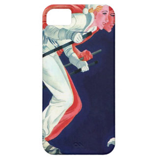 Winter sports - Skiing in tandem iPhone 5 Covers