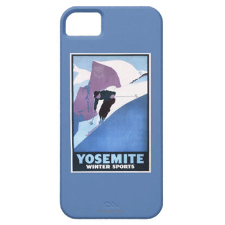 Winter Sports Skiing Promotional Poster iPhone 5 Case