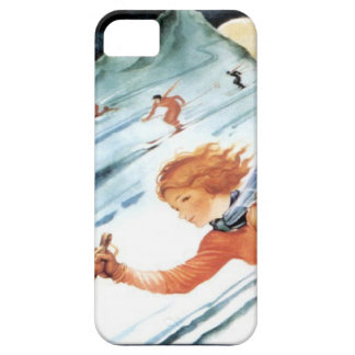 Winter sports - The downhill run Barely There iPhone 5 Case