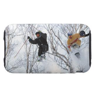 Winter Sports Tough iPhone 3 Case