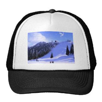 Winter sports, Winter in Romania Trucker Hats